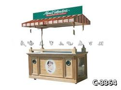 6ft Outdoor Hot dog Barbecue Food Cooking Cart Kiosk