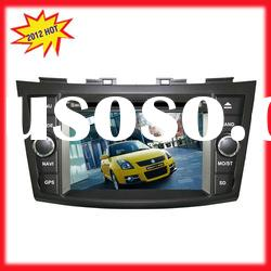 7IN Car dvd player for Suzuki Swift with GPS,BT,RDS from factory