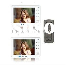 "7"" Cheap Handfree touch screen color Video door phone intercom system for apartment"