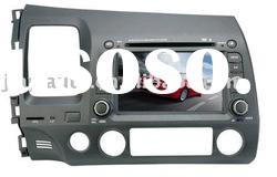 7inch car dvd GPS for HONDA CIVIC with IPOD, DVB-T (optional)
