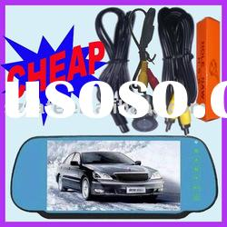 7inch car rear view camera system,auto rearview system