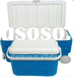 80L, 16L plastic ice cooler box set with wheels