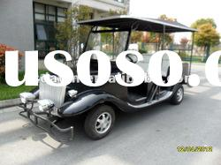 90km drive range battery powered 6 seater electric vintage classic golf cart