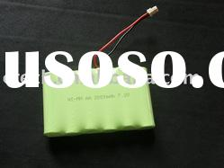 AA size 7.2V 2200mAh NIMH Rechargeable Battery