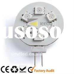 AC/DC12v G4 6SMD RGB Color Changing LED Light Bulb