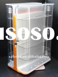 Acrylic Show Case Display with Door and Lock