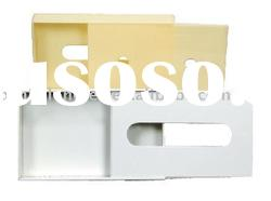 Acrylic tissue box cover with base color can be customization