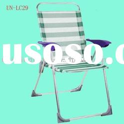 Aluminium folding beach chair