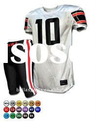 American Football Jersey Design With Strips Style American Football Pant Team Wear Snap Wear