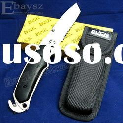 BUCK 855 Razor King Folding Knife Hunting knife knives,Camping Knife With Nylon Holster DZ-144