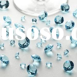 Baby Blue Acrylic Diamond Table Decorations Wedding Favors