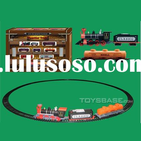 Battery Operated train & tracks toy for kids