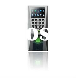 Biometric access control with attendance finger