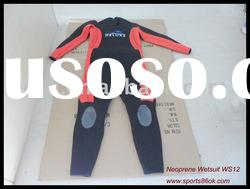 Both Men and women Neoprene diving Wetsuits sportswear WS12