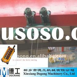 CD/MD electric wire rope crane hoists