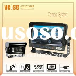 Car video camera system with auto shutter & heating CCD Camera