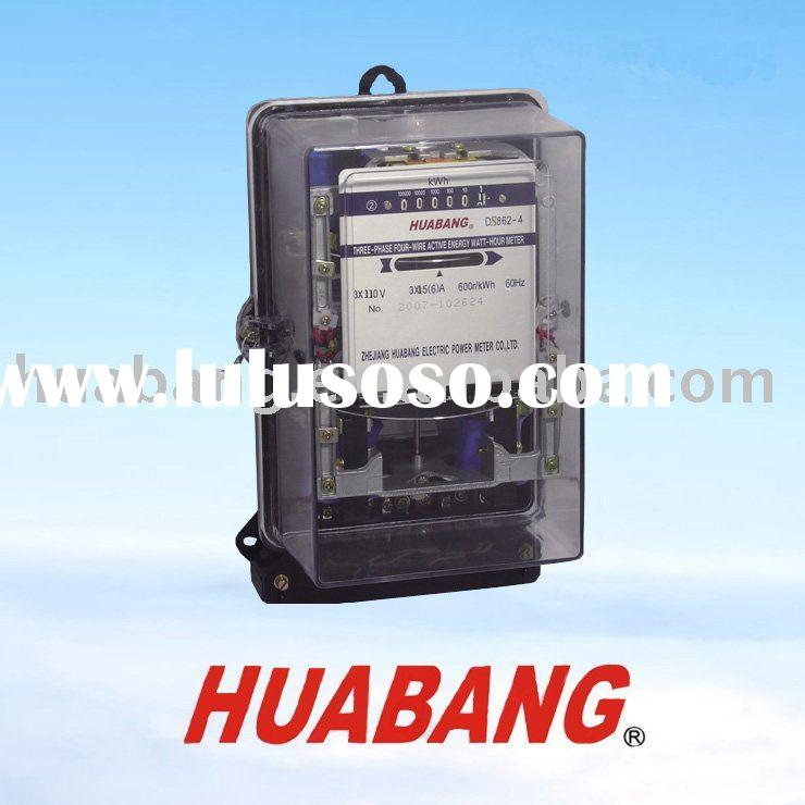 Three Phase Electricity Meter Mechanical : Three phase mechanical meter