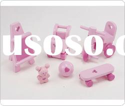 Dolls Children's Products Set wooden toys mini furniture