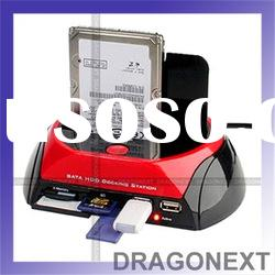 """Dual 2.5"""" 3.5"""" Hdd Ide Sata Docking Station With One Touch Backup"""