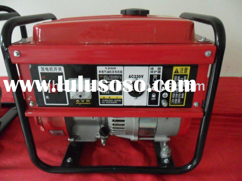 Electric Generator with gasoline/diesel engine 1-6.5KW 230V OHV