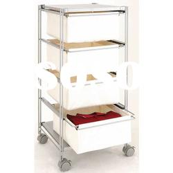 Fabric Drawer Storage Cart - trolley storage racks furniture shelf shelving cabinet