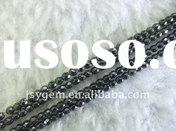 Faceted hematite beads,4mm Faceted Beads