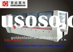 Fiber optic laser metal sheet cutting machine