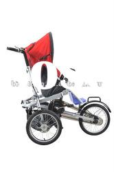 Folding bike child tricycle tractors for kids