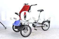 Folding bike child tricycle wood bike kids