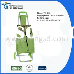 Folding shopping cart with wheels(YD-E55-A1)