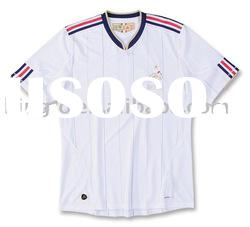 France 10/11 Away Soccer Jersey