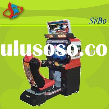 GM3104A coin operated arcade car racing game machine