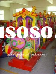 GM5661 mini train for sale, electric amusement kids train, electric toy train sets