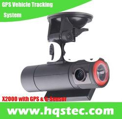 GPS Vehicle Tracking System X2000 with Dual Camera