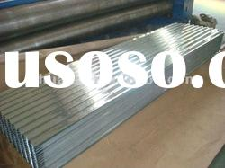 Galvanized Corrugated Steel Plate/Sheet for Roofing, Walls, with 30/80/120/180/275 Zinc Weight