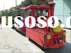 Hot attraction trackless train for sale