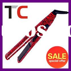 Hot!!! coin operated hair straightener,laser&iron hair straightener,purple hair straightener 2