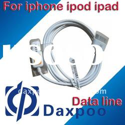 Hot selling usb data transfer cable for iphone ipod ipad series