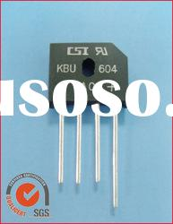 KBU604/KBU6G Diode Bridge / Single-Phase Glass Passivated Bridge Rectifier