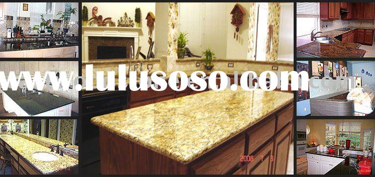 Kitchen Granite Island Countertop Splash