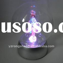 LED glass Christmas tree for decoration