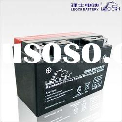 LEOCH Sealed motorcycle battery With No spills, No leaks With 12V Voltage And 8AH Capacity
