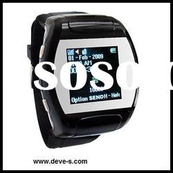 Lady Watch Phone,Quadband,Bluetooth Headset and memory card as gift
