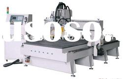 Laser woodwork making machine / co2 laser equipment wood carving machine