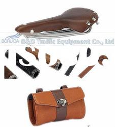 Leather Saddle/Grips/Tool Bags/Bar Tape