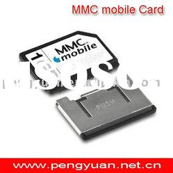 MMC Mobile Card (DVRS-MMC), OEM ,[CE FCC RoHS] 128MB 256MB 512MB 1GB 2GB 4GB Flash