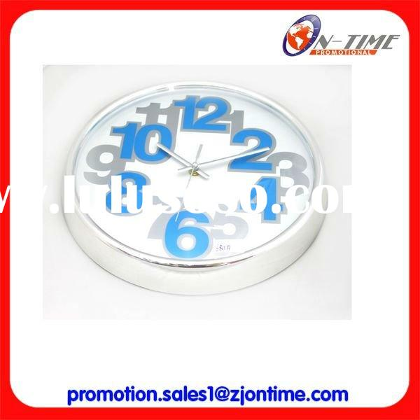 Modern design wall clock/Cheap promotional wall clock