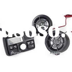 Motorcycle Audio System MP3 Stereo Speaker Support USB/FM/SD/TF