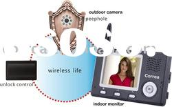 NEW LCD digital wireless peephole video intercom door phone