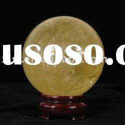 Natural Citrine Crystal Quartz Ball/Sphere